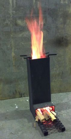 IRON PRODUCTS | Mini Rocket Stove‎