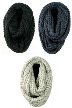 cozy infinite scarves. Fall essential