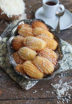 Almond Coconut Madeleine