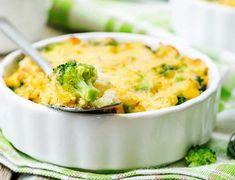 Brokkoli, blomkål og makaronigrateng