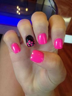 Are you looking for nails summer designs easy that are excellent for this summer? See our collection full of cute nails summer designs easy ideas and get inspired! summer nails 69 FRESH SUMMER NAIL DESIGNS FOR 2019 Get Nails, Fancy Nails, Trendy Nails, Bright Summer Nails, Spring Nails, Nail Summer, Summer Toenails, Bright Pink Nails, Cute Summer Nails