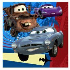 Disney's Cars 2 Lunch Napkins (16)
