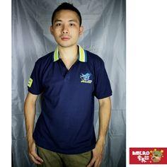 【AMERO】男裝短袖網眼POLO衫(丈青)-momo購物網
