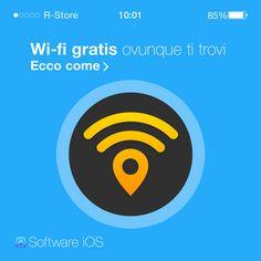 """### WI-FI GRATIS, OVUNQUE TU SIA # Grazie a questa meravigliosa piattaforma di condivisione chiamata """"Wi-fi Map"""", saremo in grado di entrare in una community di condivisione delle reti wireless. È inoltre possibile anche condividere la password del proprio hotspot. Versione PRO: grazie ad un acquisto in app, potremo abilitare il salvataggio delle password anche offline. SCARICA ORA L'APP, È GRATIS"""