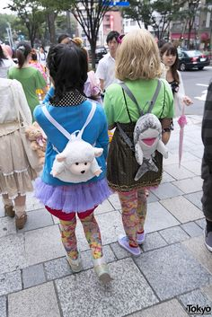 Harajuku Fashion Walk 11 (32)  stuffed animals and accessories everywhere
