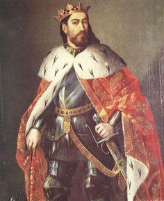Jaime I de Aragón. He had three wives and many mistresses. The favour James showed his illegitimate offspring led to protest from the nobles, and to conflicts between his legitimate and illegitimate sons. When the son of his mistress, Fernán Sánchez, who had behaved with gross ingratitude and treason toward his father, was slain by the legitimate son Peter, the old king recorded his grim satisfaction.