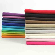 by the yard Cotton Linen Thin Soft Fabric DIY Solid Color 55  1.1 yards #3