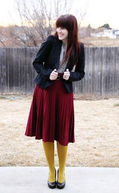 over on ldsliving.com... modest fashion blogs roundup