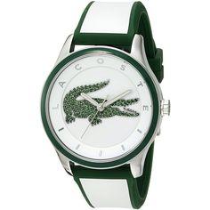 Lacoste Women's 'VICTORIA' Quartz Multi Color Casual Watch (Model:... (235 NZD) ❤ liked on Polyvore featuring jewelry, watches, multi colored jewelry, white quartz jewelry, colorful jewelry, multicolor jewelry and quartz wrist watch