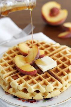 Maple Cornbread Waffles. Sounds like something I could try