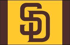 cheaper aab1c f45b9 San Diego Padres Frosted Pint Glass Art Logo, Softball, Baseball, Logo  Sticker,