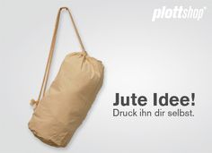 Seemann´s Rucksack - natur von plottshop auf DaWanda.com