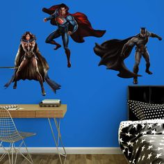 Fathead Batman vs. Superman Wall Decal Collection - 97-97129