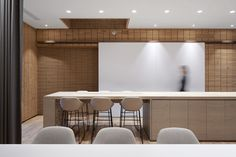 FRAME   Canada Goose Shanghai Corporate Interiors, Old Building, Cafe Restaurant, Wood Colors, Cladding, Windows And Doors, Shanghai, Canada Goose, Interior Architecture