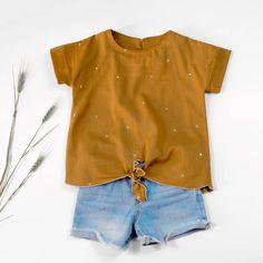 Peony top -Girl 3/12- PDF Sewing Pattern – Ikatee