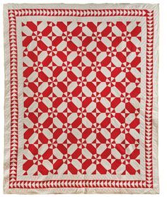 Dream Catcher. Courtesy American Folk Art Museum, New York. #76 Daisies Quilt; Artist unidentified; United States 1890-1930. Collection of Joanna S. Rose. Photo by Gavin Ashworth.