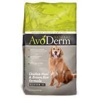 AvoDerm Natural Senior - Dog 6/4.4 lb.