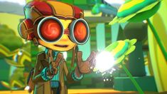 Psychonauts 2, Video Games, NoobFeed, Xbox Series X, Double Fine Video Game Reviews, Latest Video Games, Cat Ears, Xbox, In Ear Headphones, Round Sunglasses, Identity, Over Ear Headphones, Round Frame Sunglasses