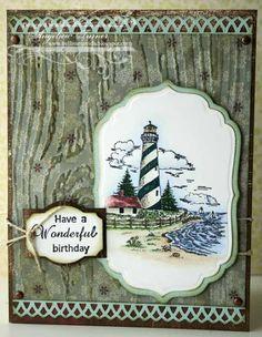 Heartfelt Creations Masculine Card