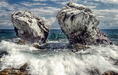 Waves by vkaramouzos. Please Like http://fb.me/go4photos and Follow @go4fotos Thank You. :-)