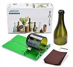 AGPtek Long Glass Bottle Cutter Machine Cutting Tool For Wine Bottles Cutting Wine Bottles, Painted Wine Bottles, Glass Bottles, Bottle Lamps, Bottle Art, Glass Cutters, Diy Recycling, Reuse Recycle, Wine Bottle Centerpieces