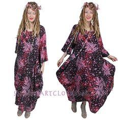 SUNHEART KABUKI Purple Sky Dress Festival boho by SUNHEARTCLOTHING