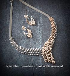 Real Diamond Necklace, Diamond Bangle, Diamond Jewellery, Gold Jewelry, Jewelery, Jewelry Necklaces, Jewellery Designs, Necklace Designs, Aquamarine Rings