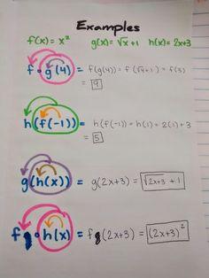 Math = Algebra 2 Interactive Notebook Pages Galore Math Teacher, Math Classroom, Teaching Math, Math Notebooks, Interactive Notebooks, College Math, Maths Algebra, Calculus Notes, Math Multiplication