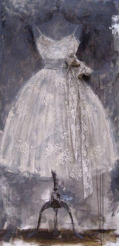 Andrea Stajan-Ferkul: Chantilly Lace
