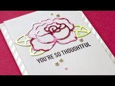 Video: Foil Die Cuts 3 Ways - Jennifer McGuire Ink