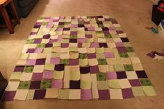 Great tips for wedding quilt guest book