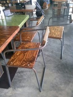 Rebar chair DIY at Craft Coer d'alene