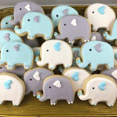 Elephant sugar cookies   Etsy