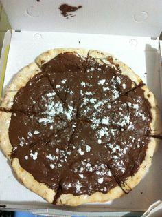 # Pizza alla Nutella ! ❤ # Procida, Napoli Nutella, Pancakes, Pizza, Drinks, Breakfast, Food, Fotografia, Drinking, Morning Coffee