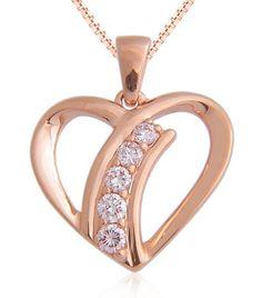 Heart Fancy Light Pink Diamond Pendant Necklace In Rose Gold Fancy Light Pink Diamond Necklaces, Diamond Pendant Necklace, Pendant Jewelry, Jewelry Necklaces, Heart Shaped Diamond, Gold Heart, Rose Gold Color, Jewelry Watches, Pink Diamonds