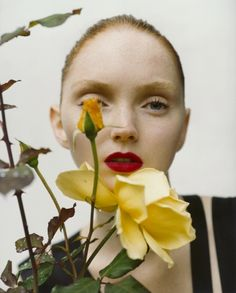 Lily Cole photographed by Tim Walker for i-D #266 (the 'Scratch and Sniff' issue), May 2006. Styled by Edward Enninful.