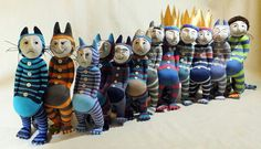 Where the wild things are - sock creatures