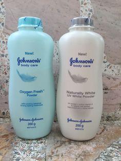 Complete Set Johnson's Baby Care Oxygen Fresh,Naturally White UV Active 200g #Johnson