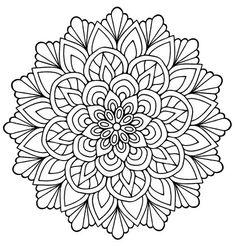Cute Mandala : Flowers & Leaves | From the gallery : /mandalas