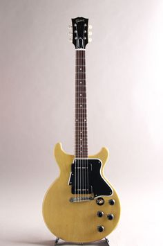 2012 Gibson Custom Shop Les Paul 1960 Special Double Cut VOS TV Yellow
