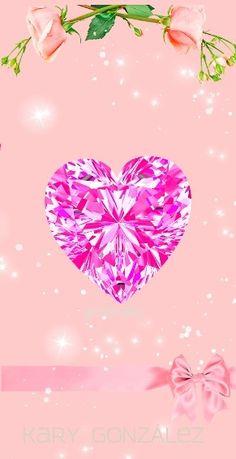 Diamond Wallpaper, Glitter Hearts, Outdoor Decor, Nature, Home Decor, Hearts, Backgrounds, Naturaleza, Decoration Home
