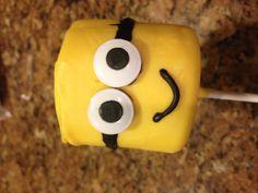 #DispicableMe #Minion www.sweetaddictioncake.com