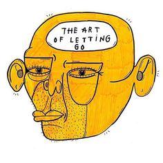 THE ART OF LETTING GO Kot Bonkers
