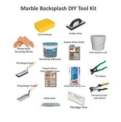 Backsplash DIY Tool Kit