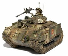 Ashes Cadian Chimera MICV. Wargear: turret/pintle-autocannon/heavy-stubber; hull/heavy-bolter; extra-armour/track-guards; smoke-launchers.