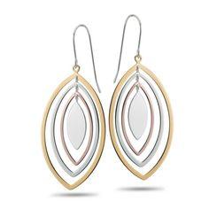 Sterling Silver, Fashion Earrings