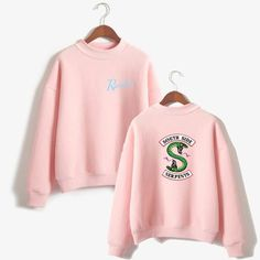 Cheap Hoodies & Sweatshirts, Buy Directly from China Suppliers:BTS Riverdale Pink Women and men Hoodies Sweatshirts Fashion Hooded Mulheres Long Sleeve Korean Sweatshirt Casual Clothing XXS Cute Outfits For School, Outfits For Teens, Casual Outfits, Summer Outfits, Totoro, Riverdale Merch, Riverdale Fashion, Cheap Hoodies, Dragon Ball