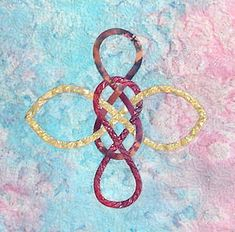 This is the Wind knot from my Celtic & More pattern, Could It Be Magic?  The pattern is $9usd from www.ScarlettRose.com