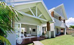 The Southport Residence architecturally designed by BGD Bayden Goddard Design on the Gold Coast. Gold Coast architecture by BGD Architects. Coastal Cottage, Coastal Homes, Coastal Living, Coastal Style, Coastal Farmhouse, Modern Coastal, Modern Rustic, Style At Home, Decor Inspiration