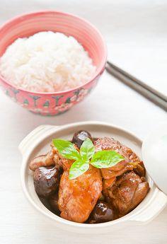 Braised Chinese Chestnut Chicken Recipe